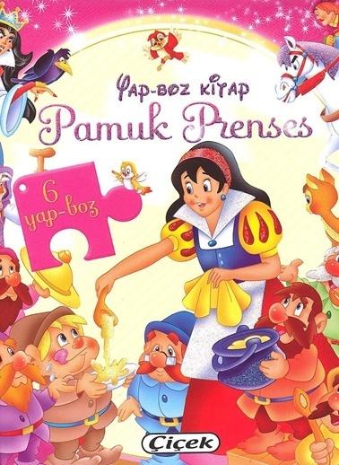 Çiçek Yayıncılık Yap-Bozlu Klasik Masallar-Pamuk Prenses Renkli